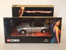 Corgi 05001 James Bond Car BMW Z8 The World Is Not Enough 1:36 Diecast Mint.