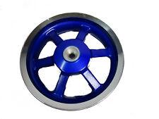 Felge hinten Trommelbremse blau original Keeway F-Act 50