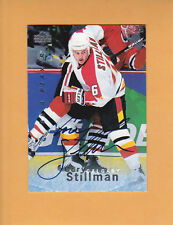 CORY STILLMAN 1995 96 BE A PLAYER AUTO # S132 CALGARY FLAMES