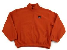 Weatherproof Brand Auburn University Zip Up Fleece Size XL Orange Logo Unisex
