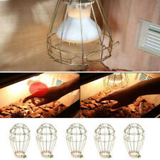 5x Reptile Insulation Heating Light Bulb Lamp Heater Holder Anti-hot Cage Guard
