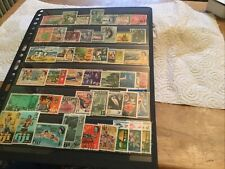 Fiji Used Stamps Lot