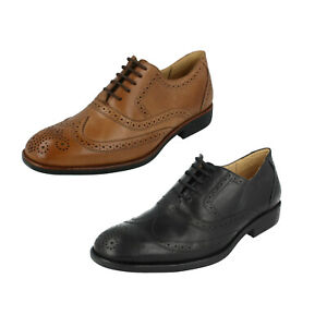 SALE Mens Anatomic & Co Crafted By Hand Brogue Lace Up Formal Shoes Charles II