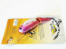 Timber Mudeye Lure Mohawk jointed Cod surface Lure 170mm col; Pink Silver