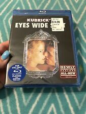 New listing Eyes Wide Shut New Sealed Blu-ray Unrated Version Tom Cruise