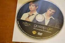 Gossip Girl First Season 1 Disc 3 Replacement DVD Disc Only *****
