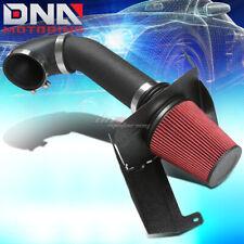 FOR GM GMT900 SILVERADO/SIERRA V8 BLACK WRINKLE FINISH AIR INTAKE+HEAT SHIELD