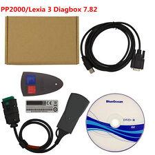Lexia 3 PP2000 Diagbox 7.82  For Citroen Peugeot Diagnostic Tool +DVD +2 Cable