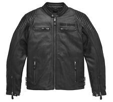98126-17EM HARLEY-DAVIDSON MEN'S URBAN  LEATHER JACKET  *NEW*