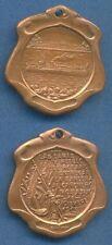 *Rosario WARSHIP Gunboat People FLAG Argentina 1909 Patriotic medal by ROSSI