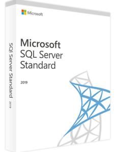 SQL Server 2019 Standard License Key MS 24 CPU Cores Genuine