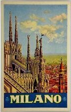 Cartolina Pubblicitaria Formato Piccolo - Milano - Enit Non Viaggiata