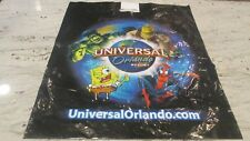 NEW- UNIVERSAL ORLANDO RESORT CHARACTERS LOGO SHOPPING BAG-2-SIDED 20X24""