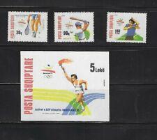 Briefmarken Olympische Spiele 1992 Albanien postfrisch