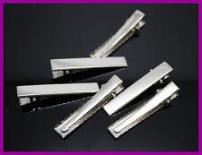 Wholesale 500pcs 45MM Metal Alligator Clips w/Teeth Barrette Hair AccessoriesDIY