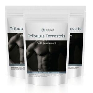 Tribulus Terrestris 2000mg 60 Tablets - Natural Testosterone Booster for Men UK