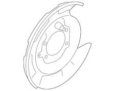 Genuine Subaru Splash Shield 26704FG020