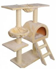 Cat Scratching Post Tree Gym House Furniture Scratcher Pole Toy Small 100cm BE