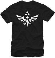 The Legend Of Zelda Triumphant Triforce Adult T-shirt - Nintendo Video Game Gift