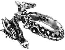 Vis Viva Ring Size W-y - Alchemy Gothic Dragon Jewellery R183