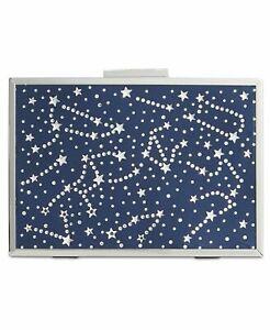 INC International Concepts Nadia Celestial Sparkle Evening Clutch Navy $99.50