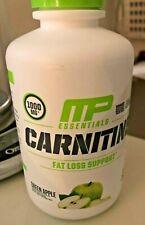 Musclepharm CARNITINE ESSENTIALS Liquid GREEN APPLE 31 Servings ENERGY BURN FAT