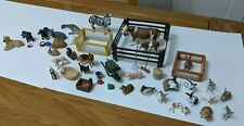 Bundle of 26 Schleich animals and accessories, used excellent Condition
