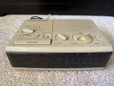 Sony Dream Machine FM/AM Digital Alarm Clock Radio ICF-C3W - Works