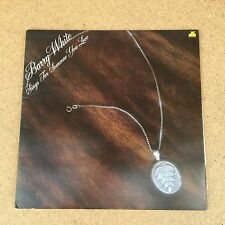Barry White Sings For Someone You Love 1977 UK  vinyl LP EXCELLENT CONDITION