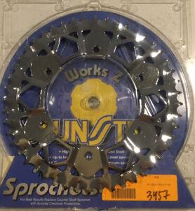 NEW! SUNSTAR WORKS Z STEEL SPROCKET FITS KTM 125 200 250 300 350 400 440 450 525