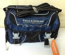 Field & Stream Fisherman Angler Fishing Tackle Lures Bag with 3 Storage Boxes