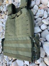 Tactical Vest With Level 3 Bulletproof Plates