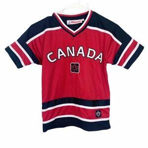 TEEPEE SPORTS Canada Hockey Jersey Maple Leaf KIDS Size 10 / 12