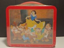 Disney Snow White Metal Lunch Box  Numbered Edition Hallmark School Days 1E/0576