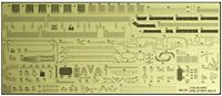 Hasegawa 1/350 Aircraft Carrier Junyo Detail Up Photo-Etched Parts Basic B NEW