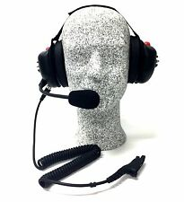 High Noise Headset for Motorola XPR6000 Series Radio, Behind-the-head Model