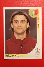 PANINI KOREA JAPAN 2002 # 309 PORTUGAL JOAO PINTO WITH BLACK BACK MINT!!!