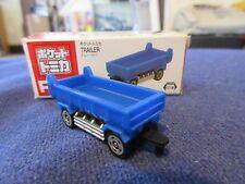 Tomica Taito Prize Half Size P051 Isuzu Giga Dump Trailer BL Truck N Scale 1:160