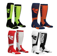 2018 Thor MX Ribbed Moto Socks for Offroad Motocross Dirt Bike - Size & Color