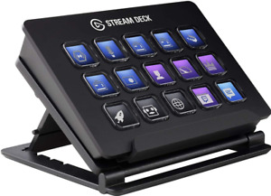 Elgato Stream Deck - Live Content Creation Controller with 15 Customizable LCD ,