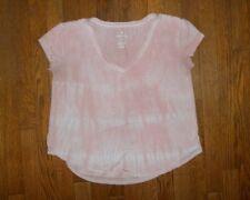 Women's Sz S American Eagle Favorite T Pink Tie Dye Shirt Top
