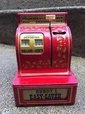 Vintage Buddy L Easy-Saver 3 coin register bank