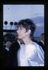Audrey Hepburn rare candid arriving 1960's event Original 35mm Transparency