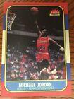 Fleer Michael Jordan Chicago Bulls #57 Basketball Rookie Card RC Reprint MT-NRMT