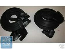 1973-77 GM Cars Factory Molded Door Weatherstrip - Pair - LM16P