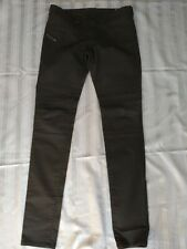 Womens Diesel JEGONFIRE Jeggings Skinny dark brown Jeans W29 L33 UK Size 10