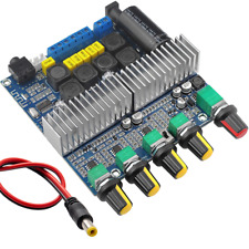 Bluetooth 5.0 TPA3116D2 Digital 2.1 Audio Amplifier Board 100W+50W+50W DC 12-24V