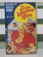 THE BEST LITTLE WHOREHOUSE IN TEXAS VHS VIDEO DOLLY PARTON BURT REYNOLDS!