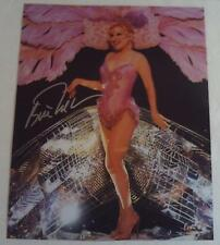 BETTE MIDLER Autographed 8x10 Photograph AUTOGRAPH Hand Signed BROADWAY Photo