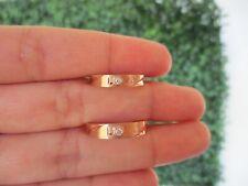 .052 CTW Diamond Wedding Ring 18K Rose Gold WR196 PRE ORDER sep